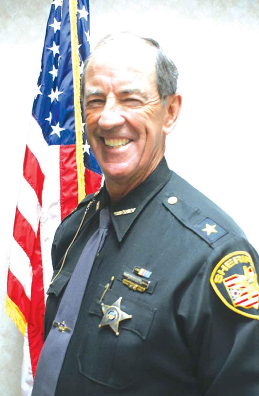 Sheriff Dan Dunlap announces retirement effective Aug  31